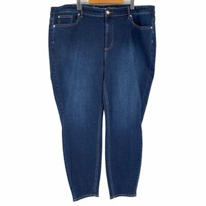 New Addition Elle Jeans Size 24 Skinny Blue